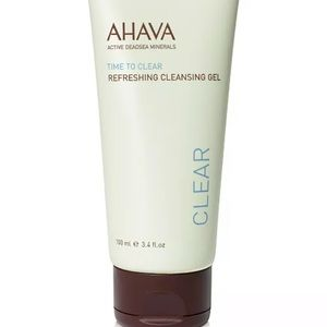 2/$20 Ahava Time To Clear Cleansing Gel New 3.4oz